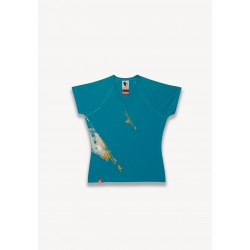 T-SHIRT TAG BLEU
