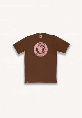 T-SHIRT BASIC MARRON